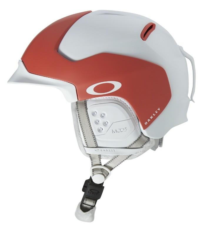 Oakley - MOD 5 Skihelm (99430, Rahmen: Matte Neon Coral, Glas: -)