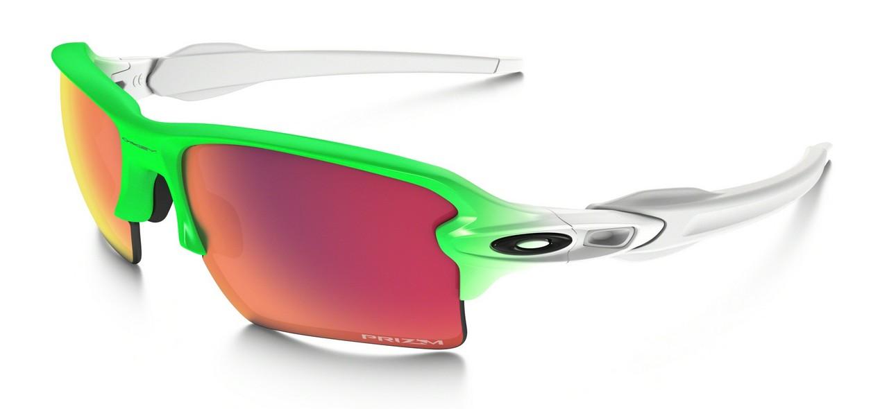 Oakley - Flak 2.0 XL (OO9188, Rahmen: Green Fade, Glas: Prizm ...