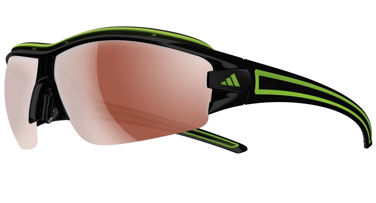 adidas Performance Adidas Performance Herren Sonnenbrille »Evil Eye Halfrim Pro S A168«, schwarz, 6050 - schwarz/braun