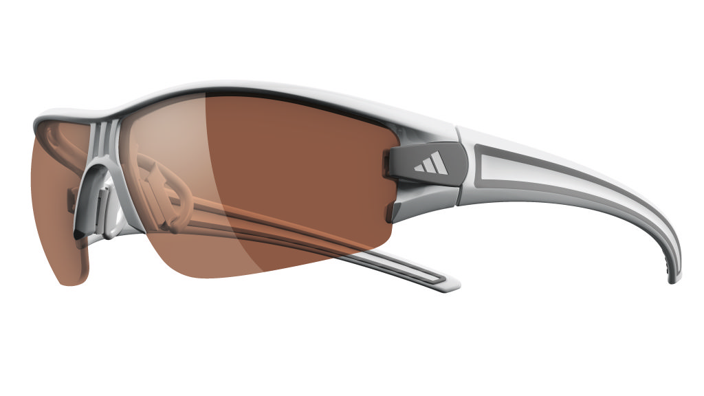adidas Eyewear Evil Eye Halfrim XS, grau