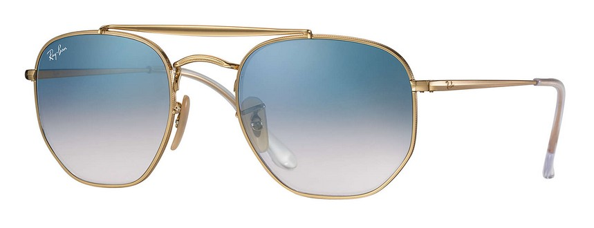 Ray Ban RB3648 001 The Marshal Sonnenbrille verglast OQIaue