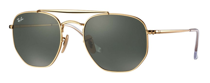 Ray Ban RB3648 001 The Marshal Sonnenbrille verglast fQ3Qd