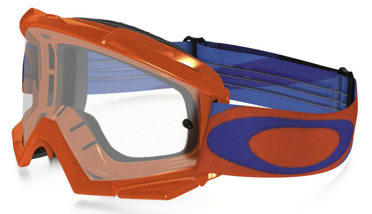 Oakley - Proven MX (OO7027, Rahmen: Heritage Racer Orange Blue, Glas ...