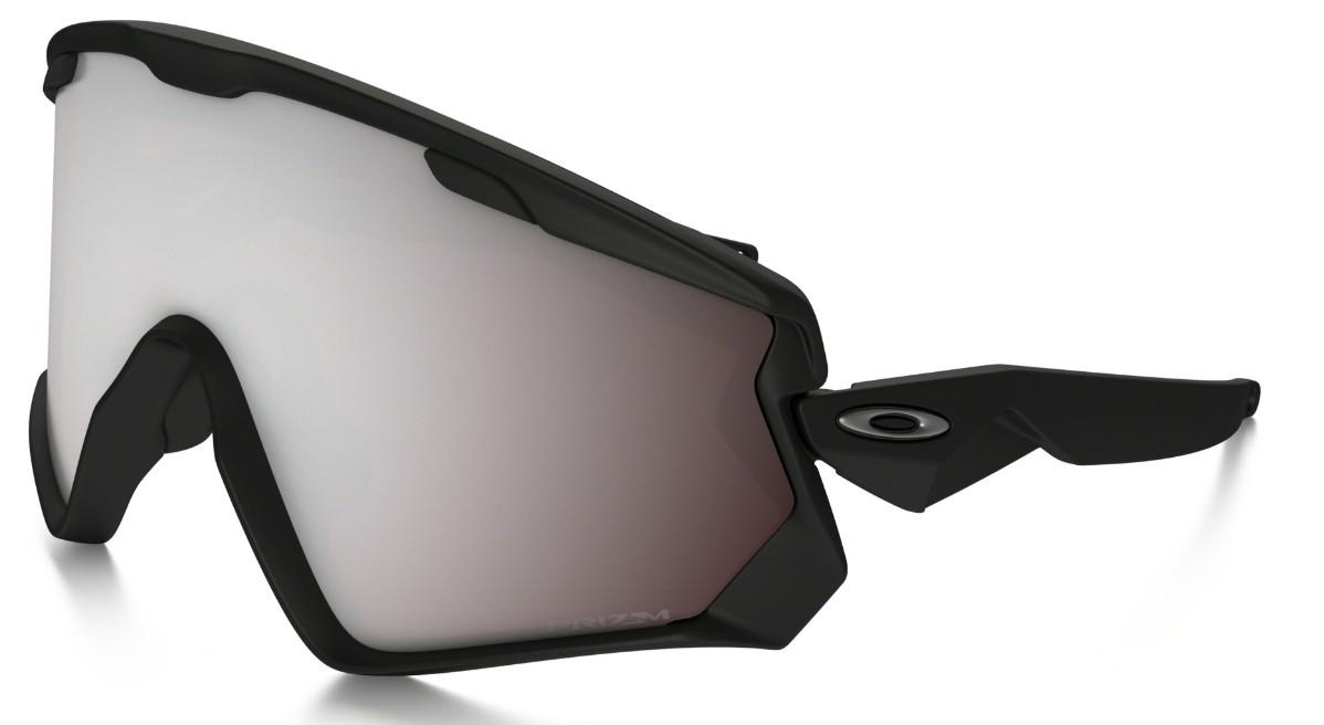 Oakley - Wind Jacket 2.0 (OO7072, Rahmen: Matte Black, Glas: Prizm ...