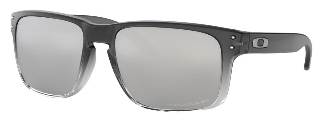 Oakley - Holbrook (OO9102, Rahmen: Dark Ink Fade, Glas: Chrome ...