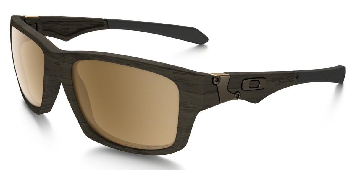 Oakley - Jupiter Squared (OO9135, Rahmen: Woodgrain, Glas: Tungsten ...