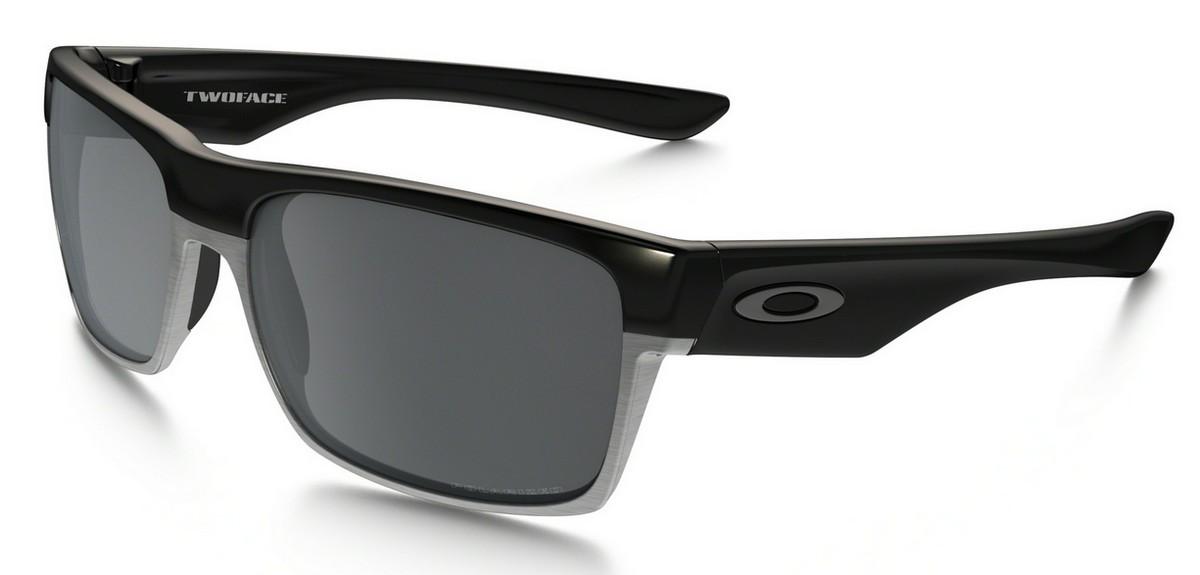 Oakley - Two Face (OO9189, Rahmen: Polished Black, Glas: Black ...