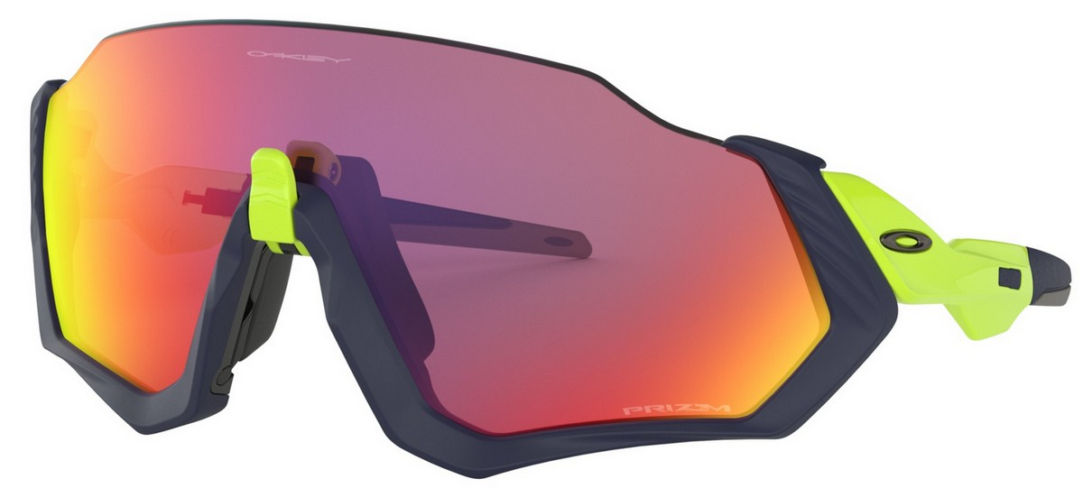 Oakley - Flight Jacket (OO9401, Rahmen: Matte Navy, Glas: Prizm Road)
