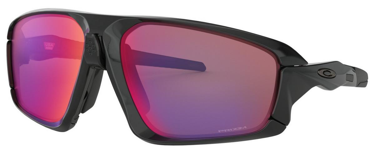 Oakley - Field Jacket (OO9402, Rahmen: Polished Black, Glas: Prizm Road)