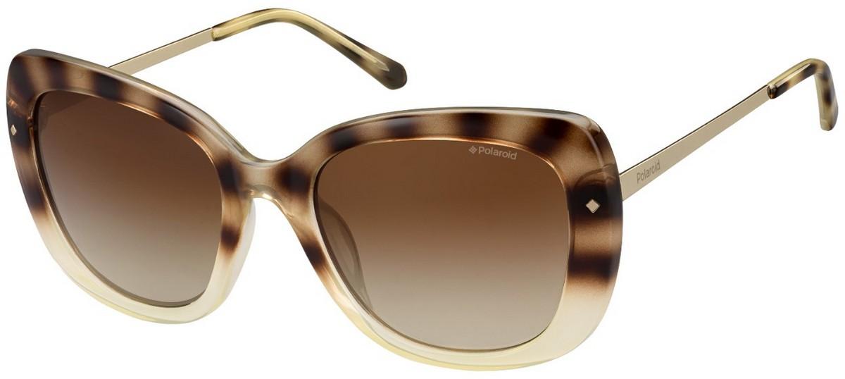 Polaroid Damen Sonnenbrille » PLD 4044/S«, braun, Y67/X3 - braun/braun