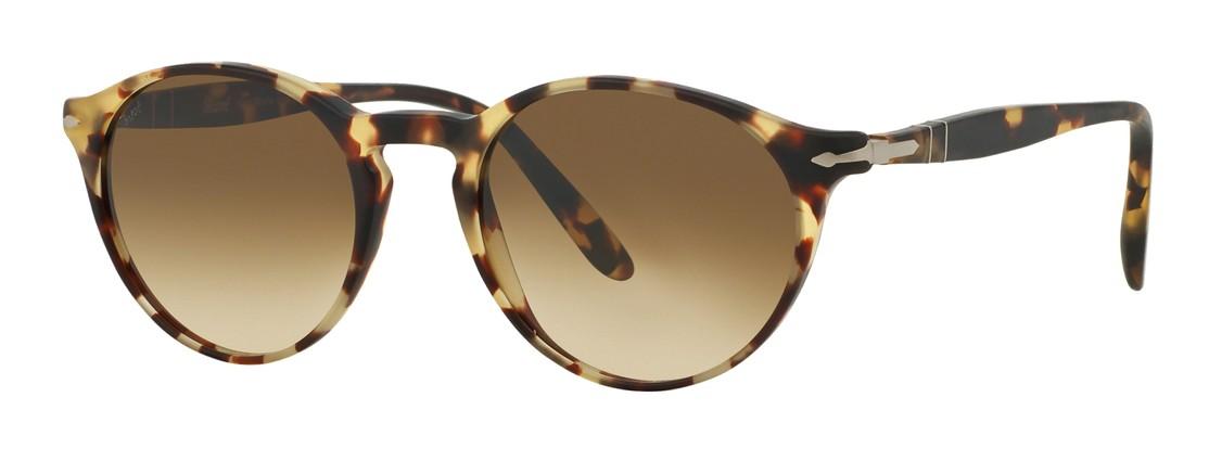 PERSOL Persol Sonnenbrille » PO3092SM«, braun, 900551 - braun/braun