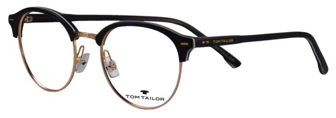 schön in der Farbe klassischer Chic Factory Outlets Tom Tailor Eyewear - TT 60464 (TT 60464, Rahmen: Black-White ...
