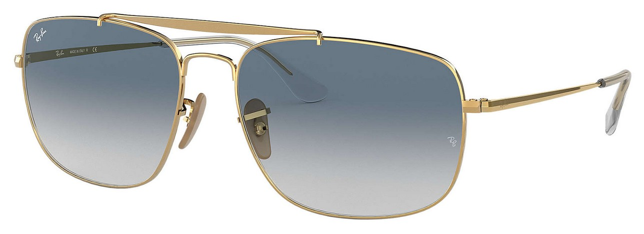 Ray Ban RB3560 002/71 The Colonel Sonnenbrille verglast ADB03P3N