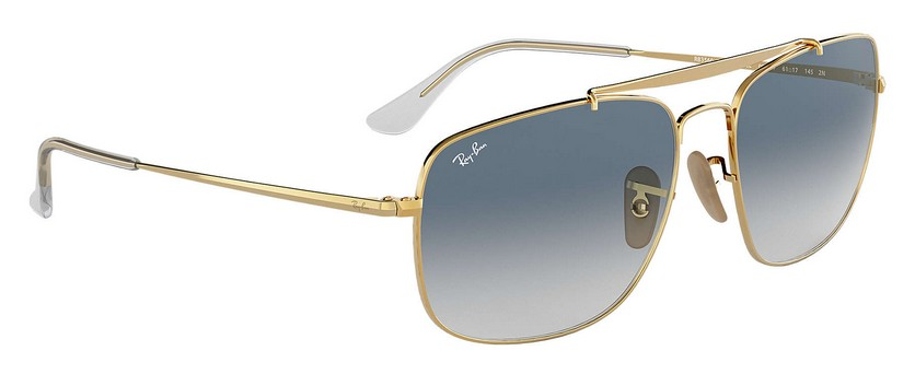 Ray Ban RB3560 001/3F The Colonel Sonnenbrille verglast OZwcWwZxdt