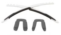 Jawbreaker Frame Accessory Kit Matte White/Black