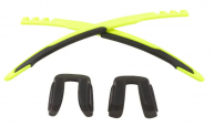 Jawbreaker Frame Accessory Kit Matte Retina Burn/Black