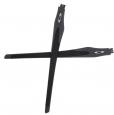 Crosslink Ersatzbügel Satin Light Steel/Black