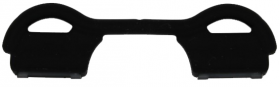 Nasensteg 2 asiatisch KST 51-4/ 5504 black