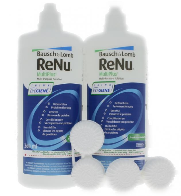 Renu Multiplus Fresh Lens Comfort Twin Box