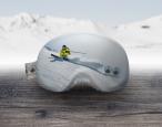 Skibrillenschutz Freeride Skifahrer