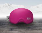 Skibrillenschutz Pink