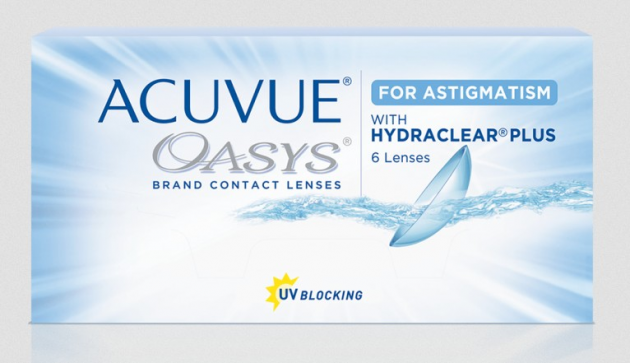 Acuvue Oasys for Astigmatism 2-Wochen 6er Box