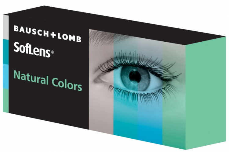 Soflens Natural Color 8.70 2er Pack